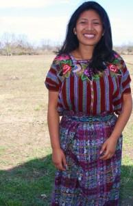 Photo of international student from Guatemala, Yolanda Rodriguez