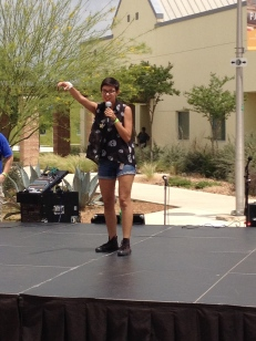 "Ariel Aguirre performs ""Alone Together"" by Fall Out Boy at PACfest 2014."