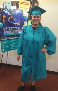Melody Donel Spring 2015 Graduate Business administration major. Photo by Cassie Hernandez