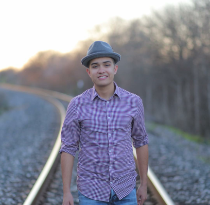 Photo of Tim Sanchez-Vega, student at PAC, Youtuber and Vlogger.