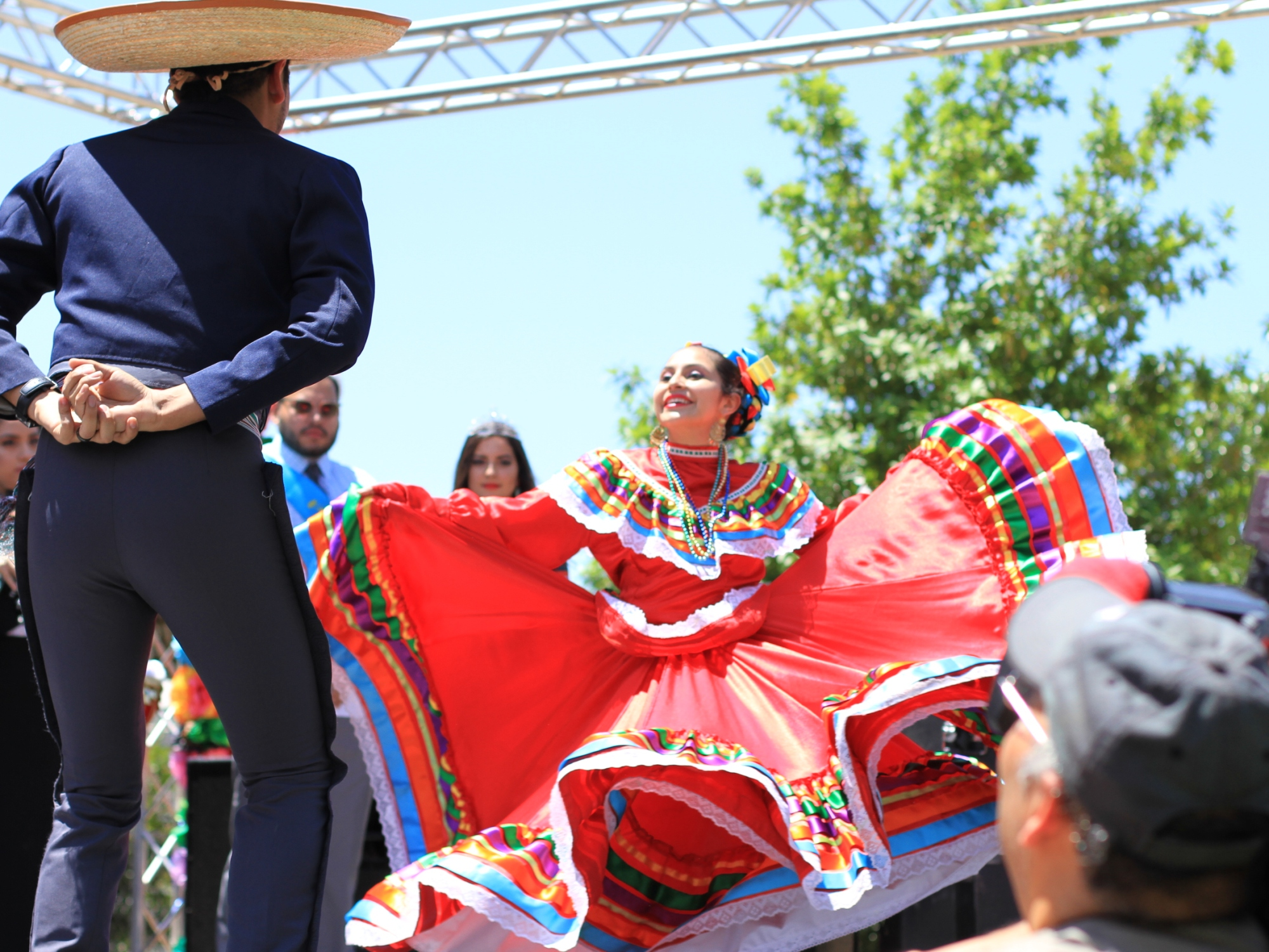 Photo of folklorico dancers at PACfest 2016.
