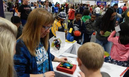 The 2016 USA Science and Engineering Festival. Photo courtesy the National Science Foundation.