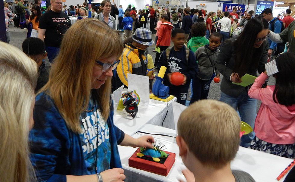 National Science Foundation at the 2016 USA Science and Engineering festival.