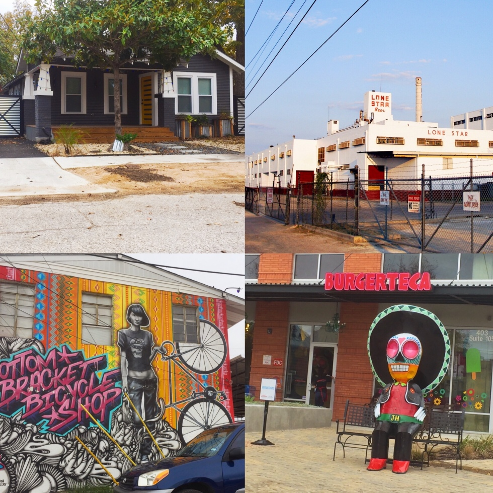 Various locations in the South Side of San Antonio Photo by Sabrina Robles